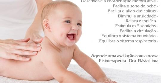 Massagem para bebés (Massagem Shantala)